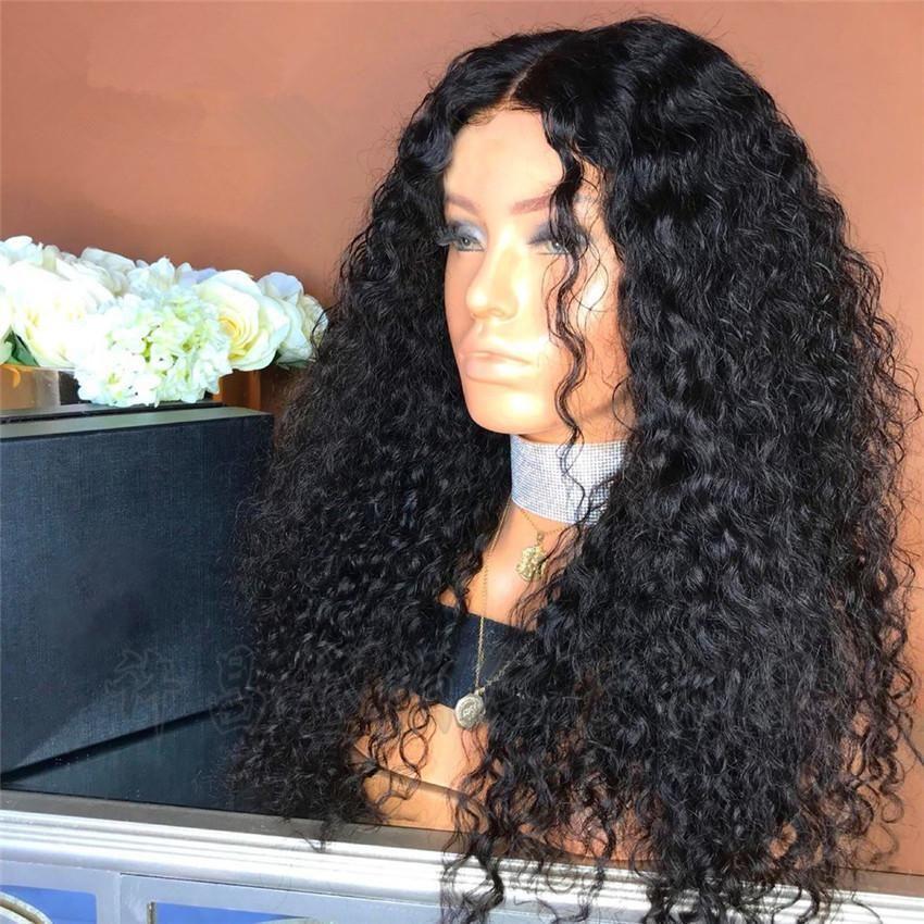 Extranjera Comercio caliente venta africana pequeño rollo de la peluca torcida en forma de tubo pequeño tubo largo y rizado mullido pelo explosión cabeza de cabello femenino