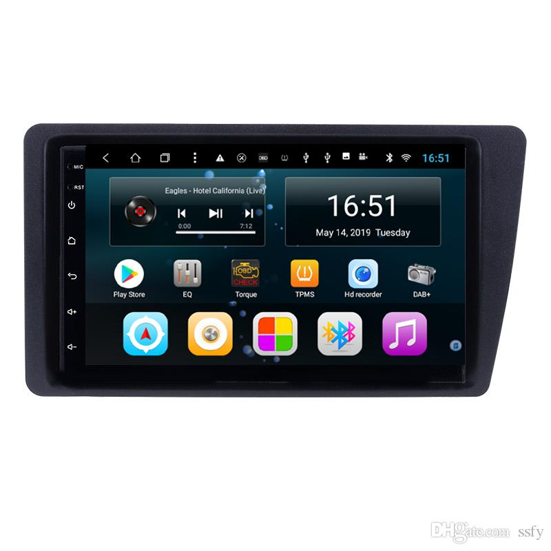 Android 9inch 8-core for Honda civic 2001-2005 Car Multimedia Player Radio WIFI Bluetooth GPS Navigation Wifi Head Unit