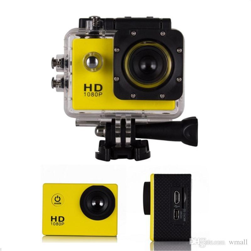 SJ4000 720P 1080 P Cámara de deporte digital de acción Full HD Pantalla de 2 pulgadas debajo del agua 30M Grabación DV Mini Sking Bicicleta Foto Video Cam