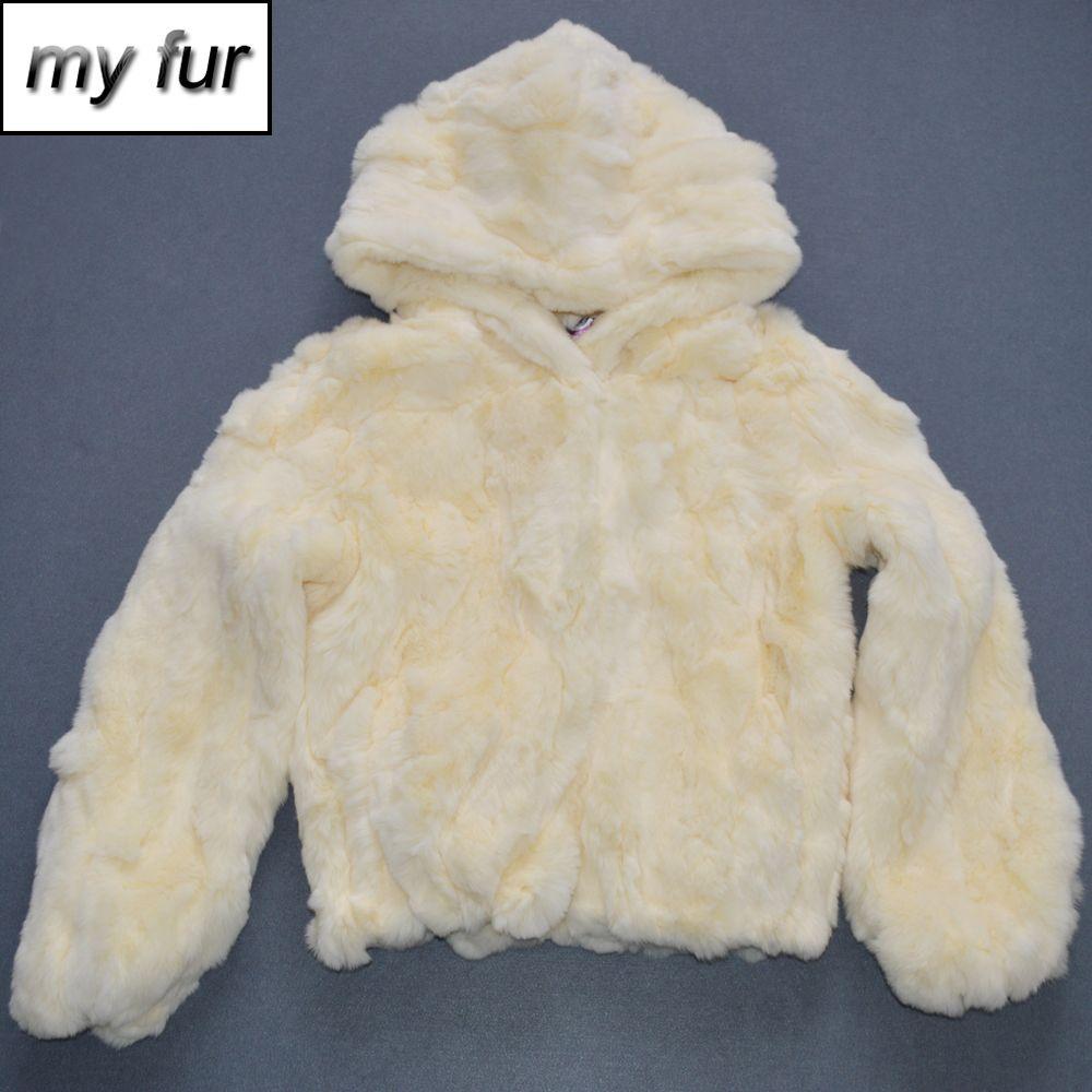 Manteau de fourrure Real Rex fourrure douce douce femmes manteau Real Rex fourrure veste filles véritable manteau court