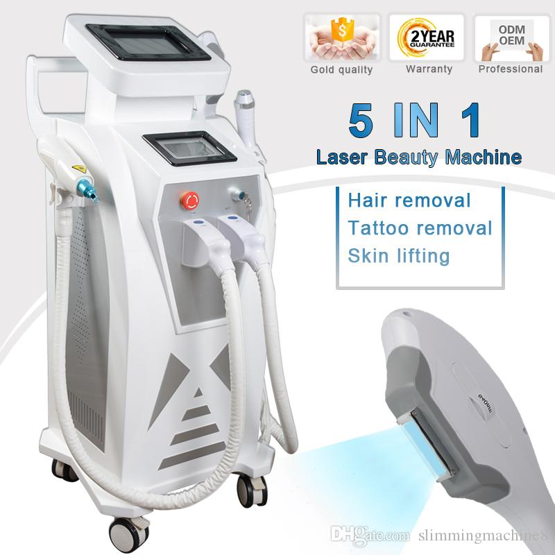 Nd Yag Laser System Tattoo Removal Beauty Machine Diode Laser Soprano Hair Removal Machines Elight Ipl Hair Removal