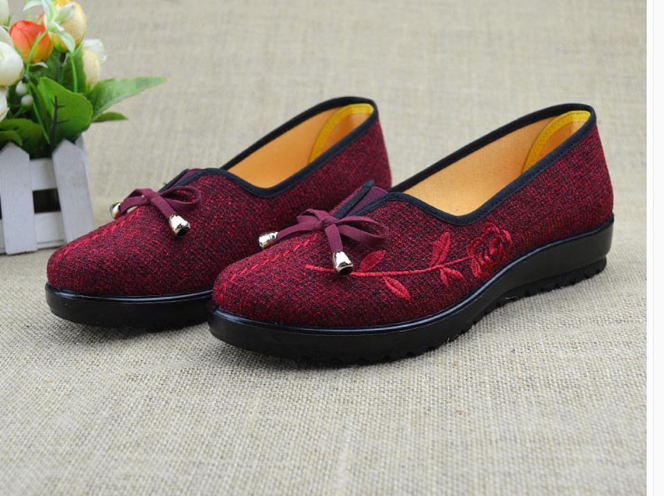 2020 Primavera e Outono com sapatos estilo novo da forma plana de fundo redondo cabeça de Mulheres @ MQWBH670
