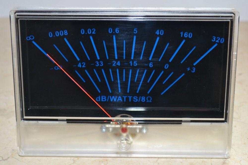 2019 VU Panel Meter DB Level Header Audio Power P 134 Amplifier Chassis  Back Light From Meitan, $52 45 | DHgate Com