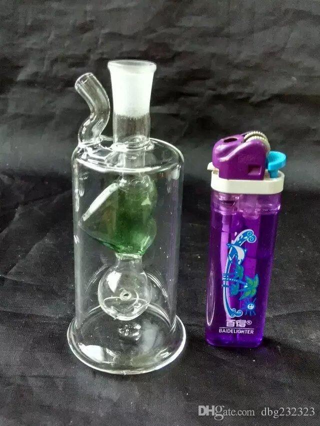 Dans une variété d'accessoires de bangs en verre, tuyaux à fumer en verre multicolores multicolores à main multicolores Best Spoon glas