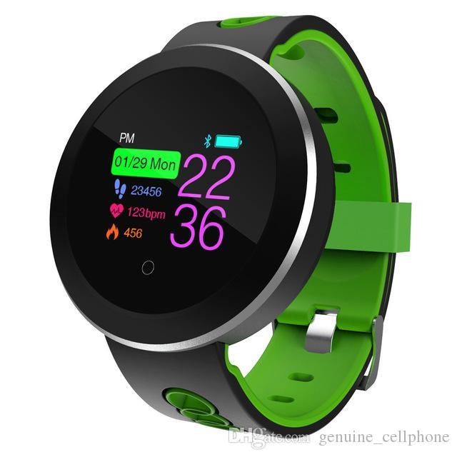 Q8 برو الذكية ووتش IP68 للماء الدم Prssure رصد معدل ضربات القلب سوار للياقة البدنية المقتفي الرياضة بلوتوث ساعة اليد للحصول على الروبوت فون