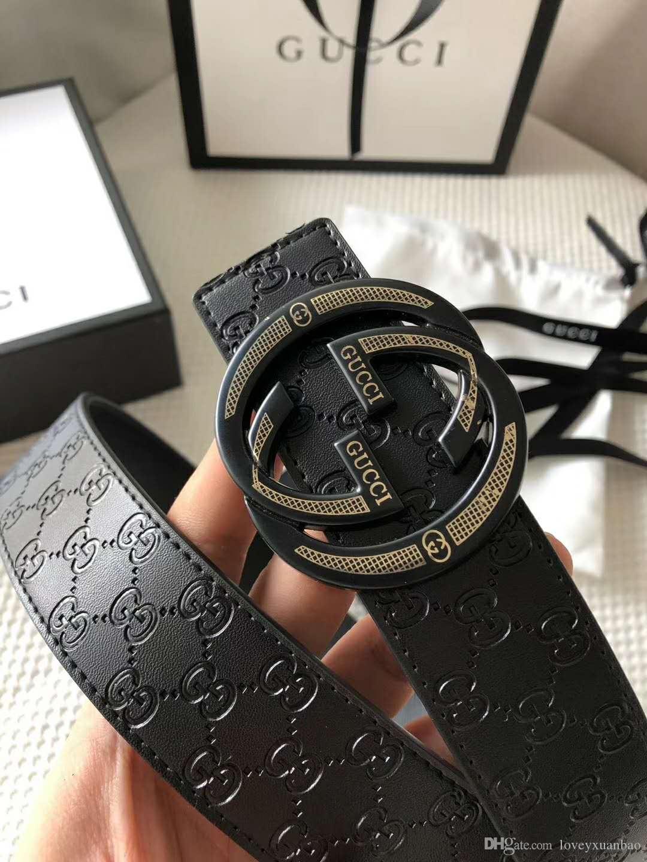 Look Leather belt fashion brand designer design hot style belt for both men and women high-end atmosphere fashion belt