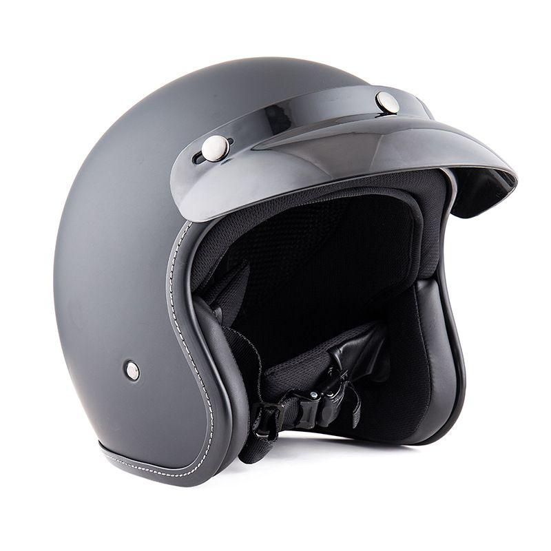 Ретро шлем аксессуары для мотоциклов ABS мода половина шлем Мото Мотоцикл скутер старинные универсальный Protetor
