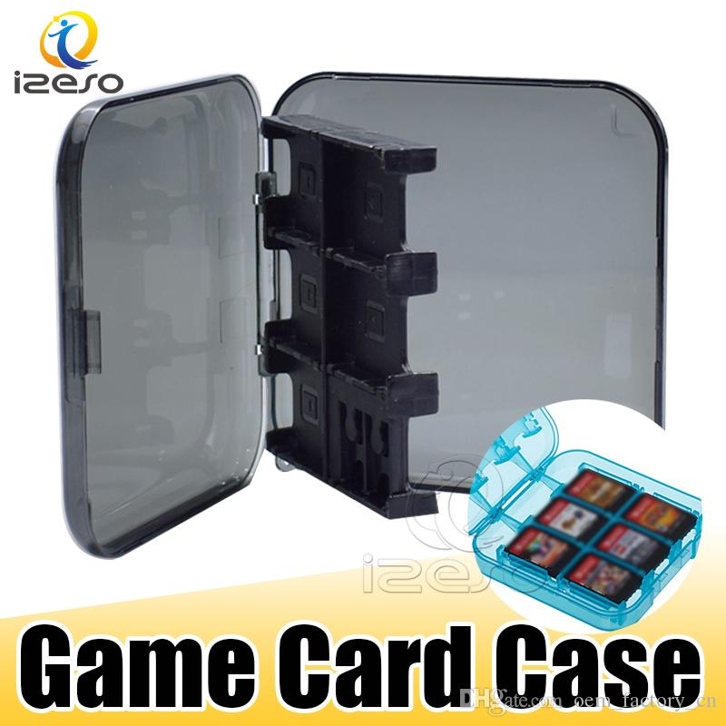 Game SD Cards Case for Nintendo Protective Hard Shell Cover Portable Game Card Storage Kard Storage Box for Nintendo Switch Lite izeso