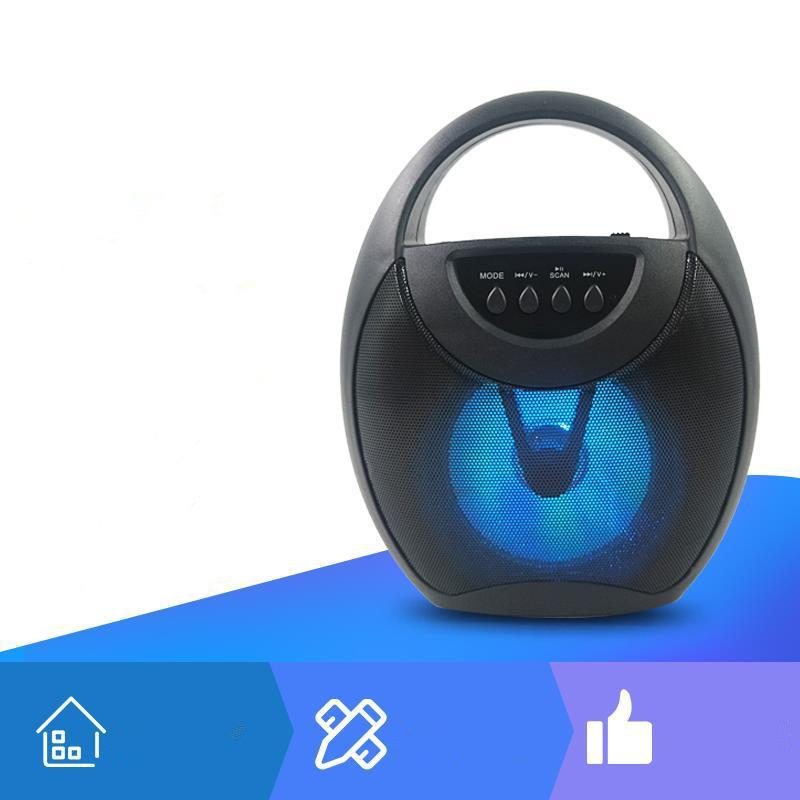 2020 neue Bluetooth-Lautsprecher im Freien quadratische Tanz tragbare Bluetooth-Lautsprecher Audio Geschenk Audio 3 Farben dhl frei