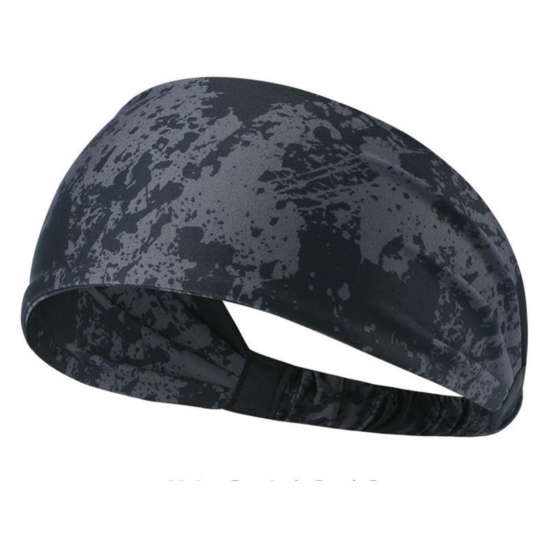 Männer Frauen saugen Schweiß Fitness Stirnband Yoga Jogging Fitness Stretchy Kopf-Verpackung Geeignet für Kopfumfang zwischen 53-60cm