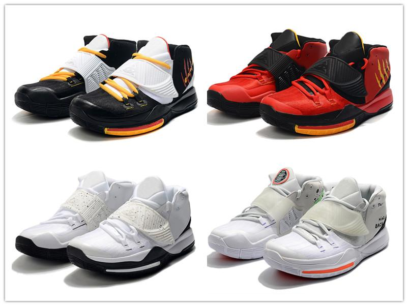 K6 Bruce Lee Noir Rouge Hommes Basketball chaussures Trainer Hot Sale Oreo 6S There Is No Coming Back Blanc Vert mens baskets design