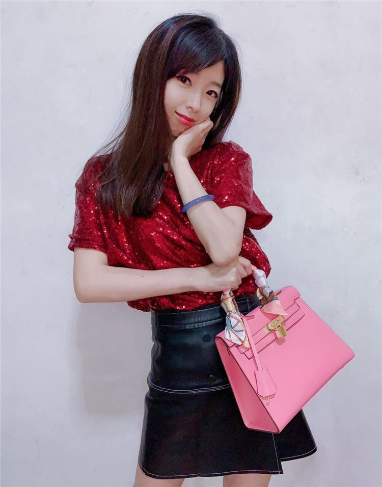 PHOENIX ONLINE Famous Designer Handbags for Women Purses Lady luxury bags 100% Genuine Leather Shoulder Bag gold hardware Scarf Gift package