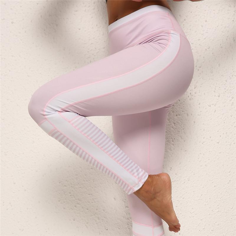 Yoga Pants Women Sport Leggings Push Up Sexy Gym Leggings Women Slim Sexy Elastic Running Tights Skinny Jogger Compression Pants Y200529