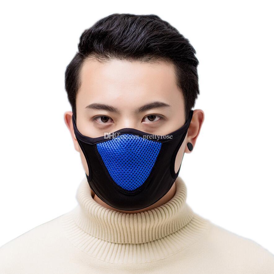 Máscaras cálidos ciclismo se enfrentan las mujeres de los hombres moto deportiva Montar bicicleta invierno Máscaras transpirable cara del polvo anti Ciclo máscara del protector del velo