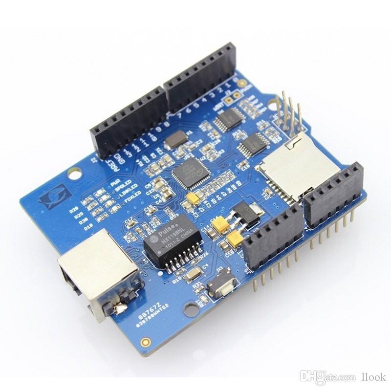 Freeshipping Ethernet W5200 UNO R3 Mega 2560 R3 için İnternet Akıllı Ev Mobilya DIY Kiti
