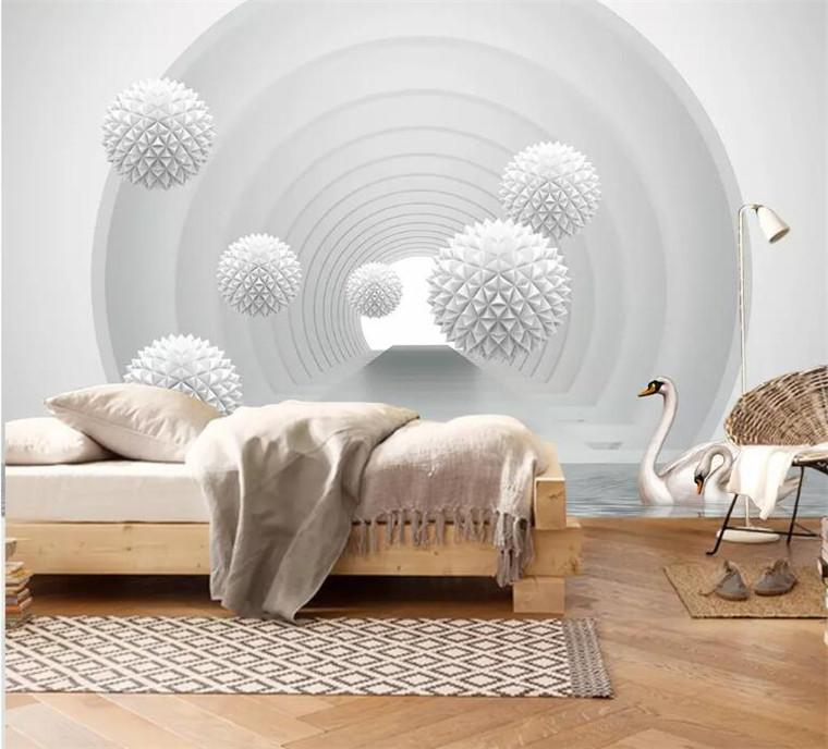 Modern Creative 3d Stereo Ball Extension Space Background Wallpaper For Living Room 3d Photo Wallpaper Nature Mural Wallpaper 3d Wall Paper Desktop Wallpaper With High Resolution Desktop Wallpapers From Xunxun66 16 29 Dhgate Com