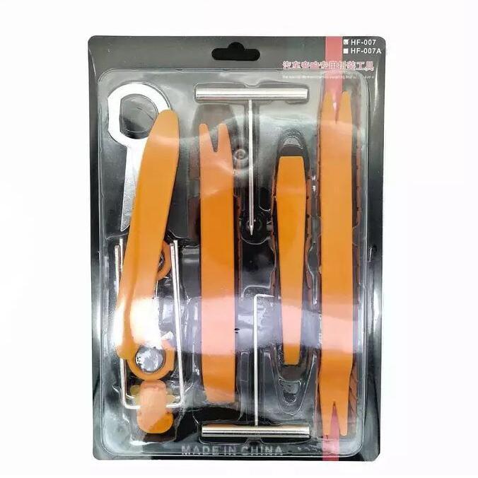 DHL 100set 12Pcs auto di plastica Porta automatica Radio pannello di rivestimento del precipitare di rimozione Audio Installer Tool Kit Audio strumento di smontaggio