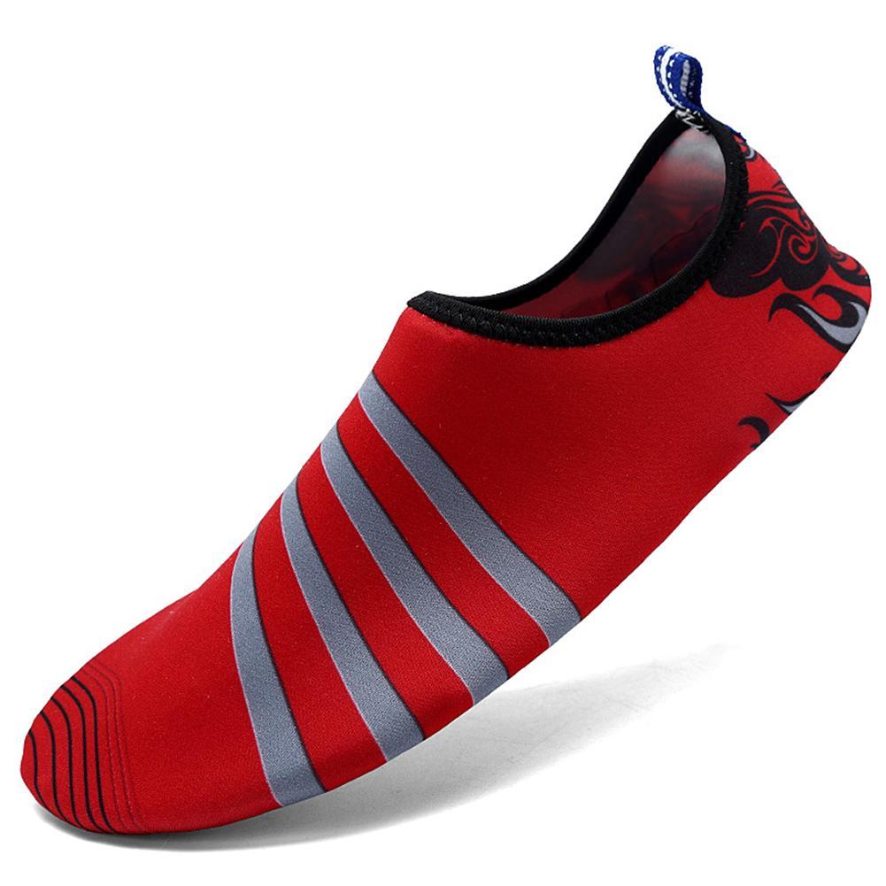Verano zapatos descalzos Hombres Zapatos de agua de secado rápido de la aguamarina zapatos de playa Zapatillas Mujeres Natación Buceo calcetines zapatillas de deporte de fitness 13 colores