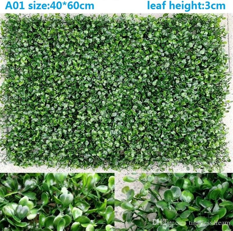2019 Environment Artificial Lawn Artificial Turf Simulation Plant Wall Lawn  Outdoor Ivy Fence Bush Plant Walls For Home Garden Wall Decoration From