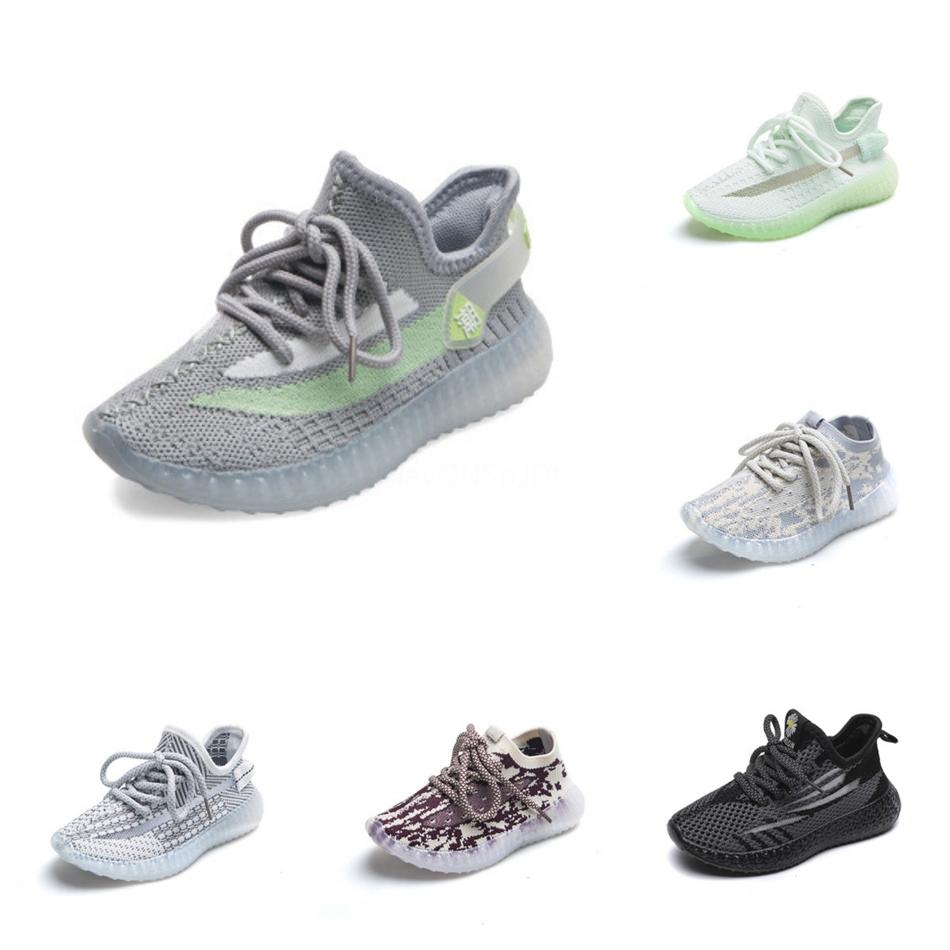 V2 Designer Sneakers New True Form Clay Hyperspace Static Best Quality Kanye West Kids Running Shoes #137