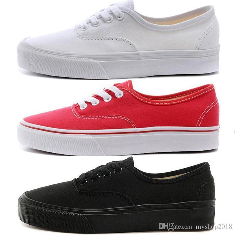 Top Designer classique Hommes Femmes toile Chaussures de sport Tous haut et bas blanc noir rouge MARSHMALLOW Casual Chaussures de skate