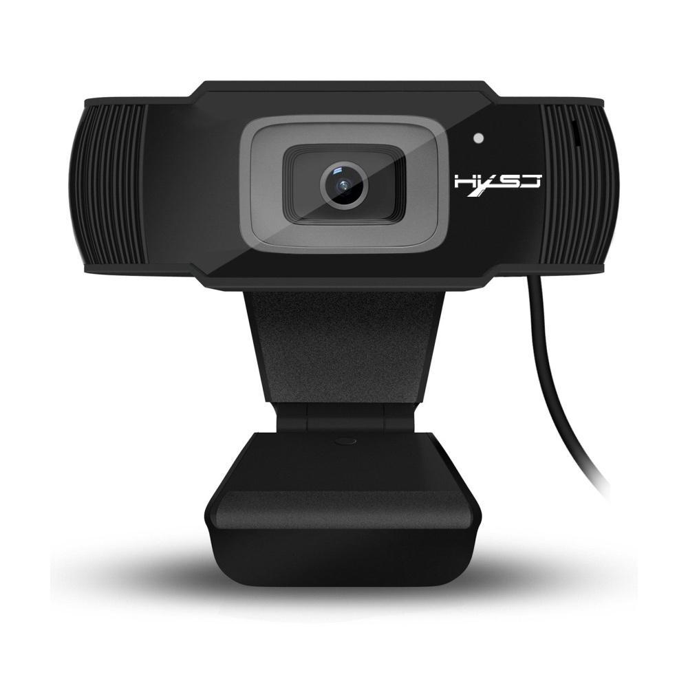 HXSJ S70 HD كاميرا ضبط تلقائي للصورة كاميرا ويب 5 ميجابيكسل دعم 720P 1080 مكالمة فيديو الكمبيوتر الطرفية كاميرا HD كاميرا الانترنت T191022 سطح المكتب