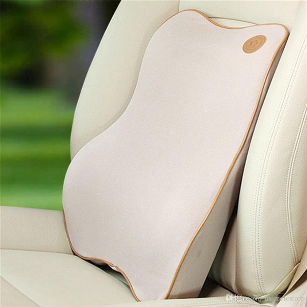 Alta calidad Memoria Espacial espuma de coches cintura amortiguador del verano del coche de la columna lumbar del amortiguador de asiento de atrás de la cintura de automoción Productos de seguridad