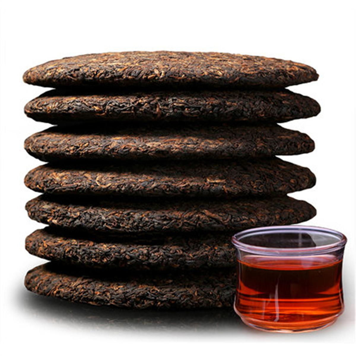 Preference 357g Ripe Puer Tea Yunnan Menghai spring Puer Tea Cake Organic Natural Pu'er Oldest Tree Cooked Puer Black Puerh Green Food