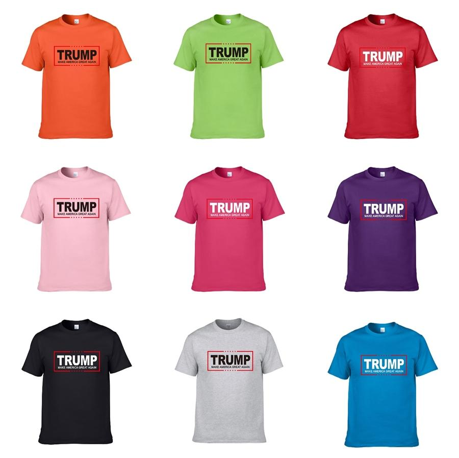 19 20 Herren Designer Trump T Shirts Schwarz Weiß Rot Mens Fashion Designer Trump T Shirts Top Short Sleeve S-XXL # 856415 # 809