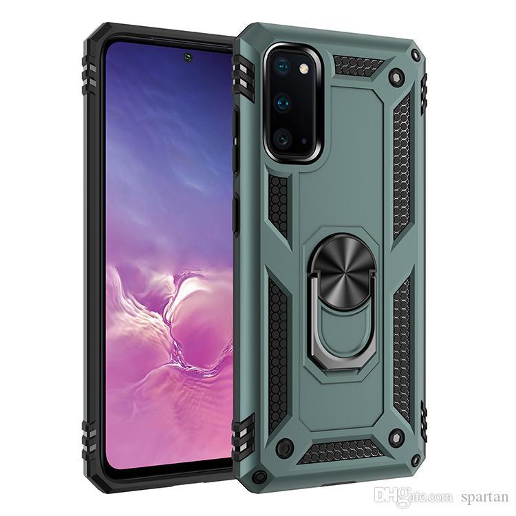 Ring Stand Case for Samsung A31 A12 A02S A01 A11 A21S A21 Motorola E7 Armor Kickstand Magnetic Case A52 A72