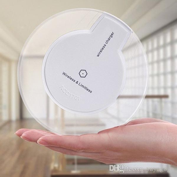 Hotsell für iPhone X 8 und Wireless-Ladegerät Mini Charging Pad für Typ c-Telefon für Samsung S8 S7 S6 Edge-Note8