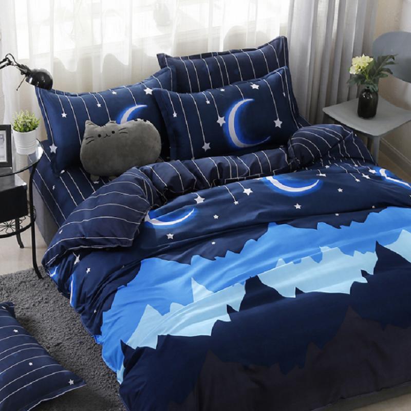 Ntnt 23 Ultratex Home Textile impresso multi cor multi Tamanhos confortável escovado Suede Bedding Sets Folha de cama capa de edredão