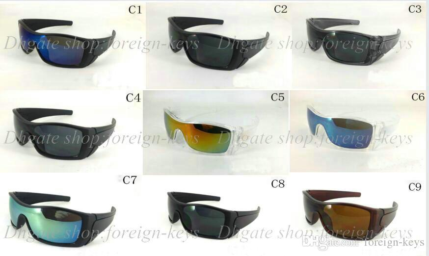 남성 선글라스 여성의 스포츠 선글래스 디자이너 안경 10PCS / 많은 무료 배송 9 색 새로운 패션 스타일.