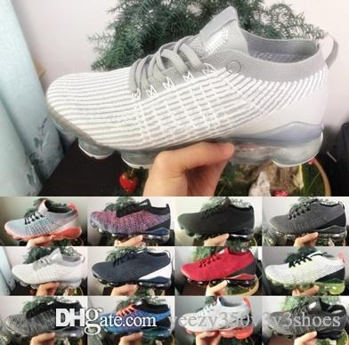 Nike air vapormax 2019 vapors Designer Shoes Women Men Mercurial Plus Ultra outdoor run utility Trainers Triple Black fashion sneakers mae shoes 36-45