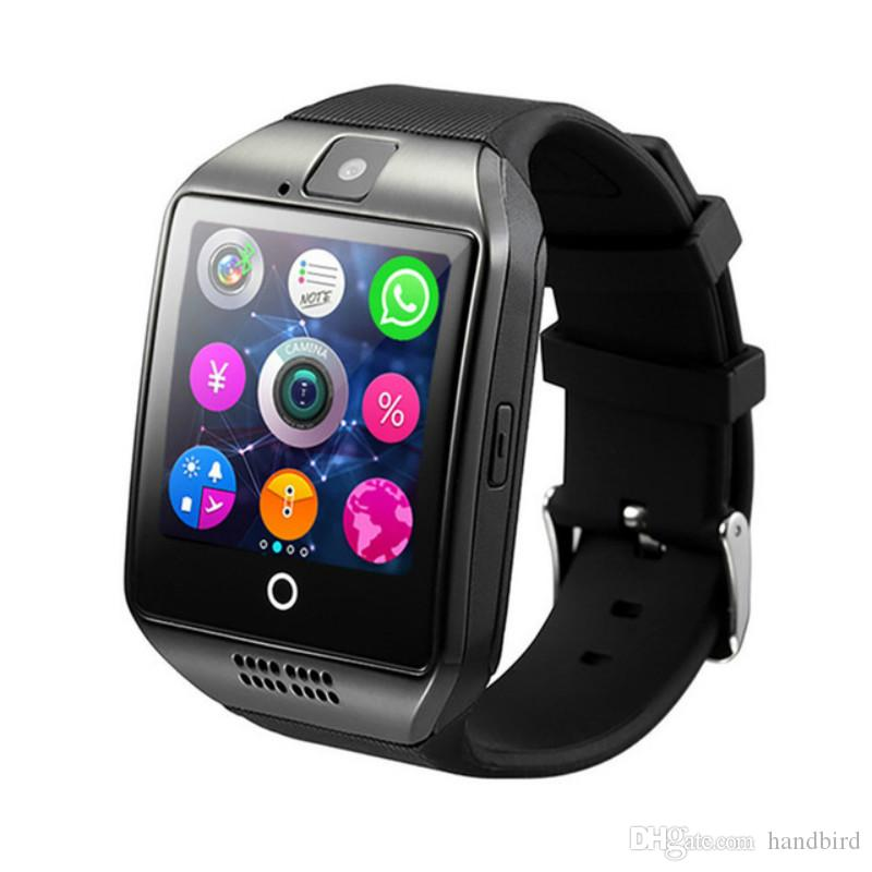 Q18 Bluetooth Smart Watch Men Women Children Watch With Touch Screen Big Battery Support TF Sim Card Remote Camera Video for Android Phone
