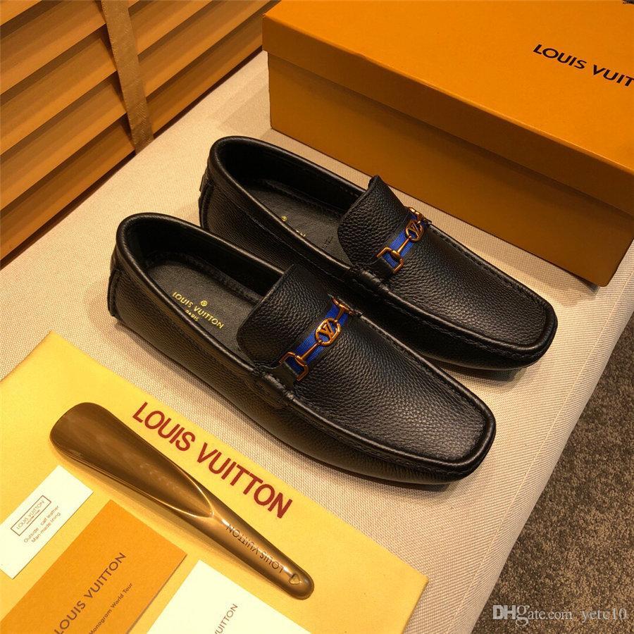 2019 Erkek Ayakkabı loafer'lar Deri Hafif Erkekler Casual Ayakkabı Markaları Rahat İlkbahar Sonbahar Moda Nefes Erkek Ayakkabıları
