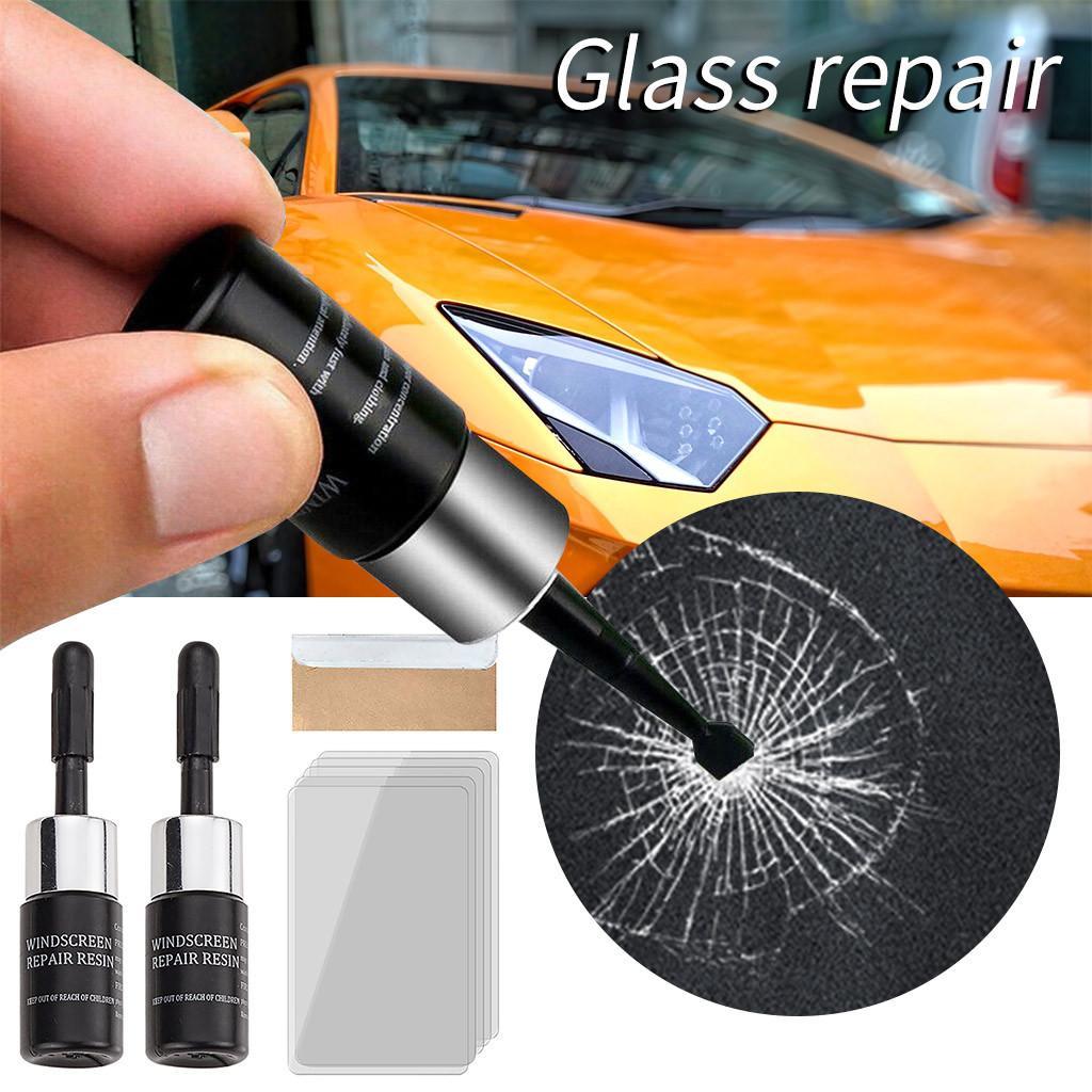 Car Glass Window Crack Chip résine Pare-brise Pare-brise Réparation Outil bricolage Tool Kit Jardin Home Improvement 2019 HOT