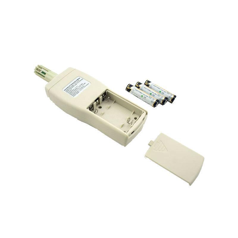 Temperatura Cima higrómetro AS817 del hogar digital de alta precisión y la temperatura medidor de humedad Indicadores de humedad de mano Instrumento