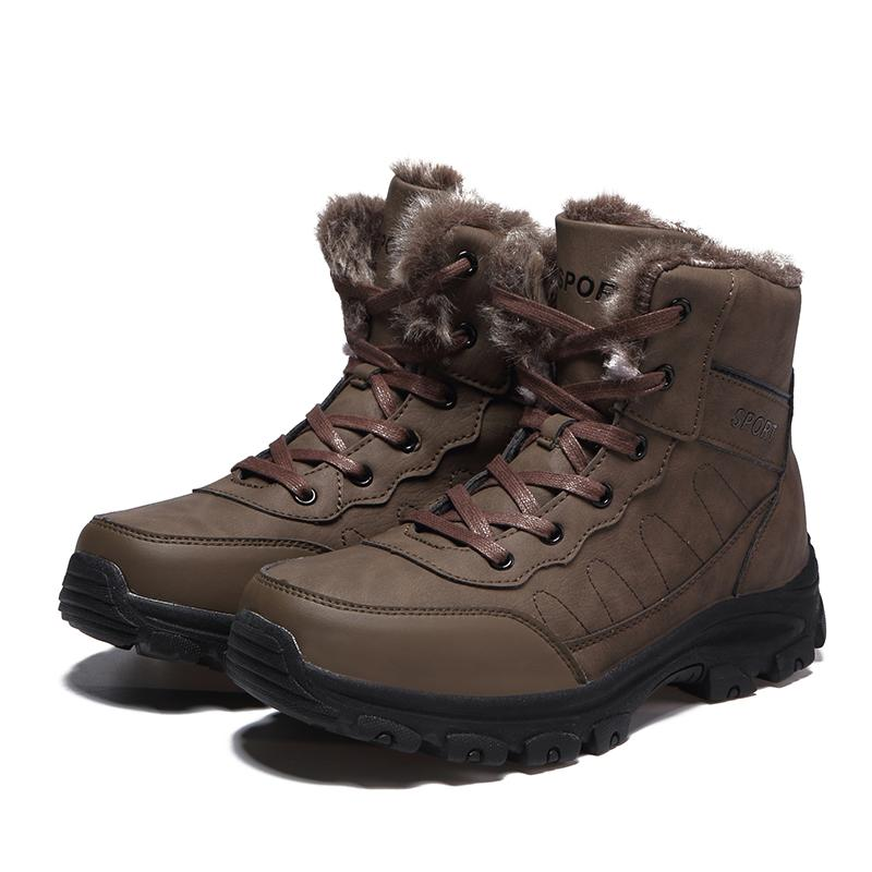 99a3c88dd93 Winter Warm Timberlands Boots Men Shoes Fully Fur Lined Ankle Snow Bootie  Waterproof Outdoor Hiking Walking Casual Fashion Sneakers Boot Ankle Boots  ...