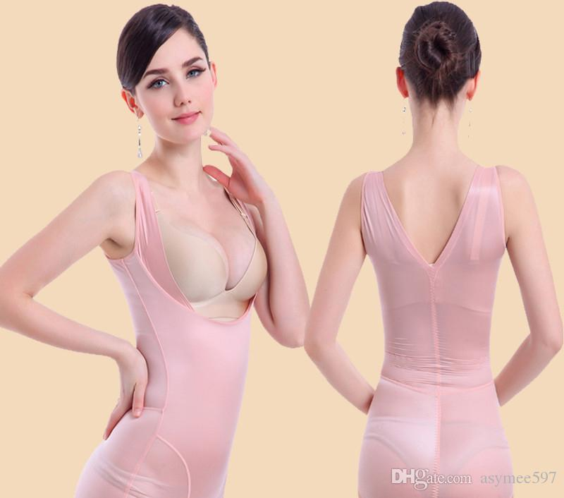 Hot new style Body Shaper Slimming undies wear to women,lady high quality ice silk materials bodysuits