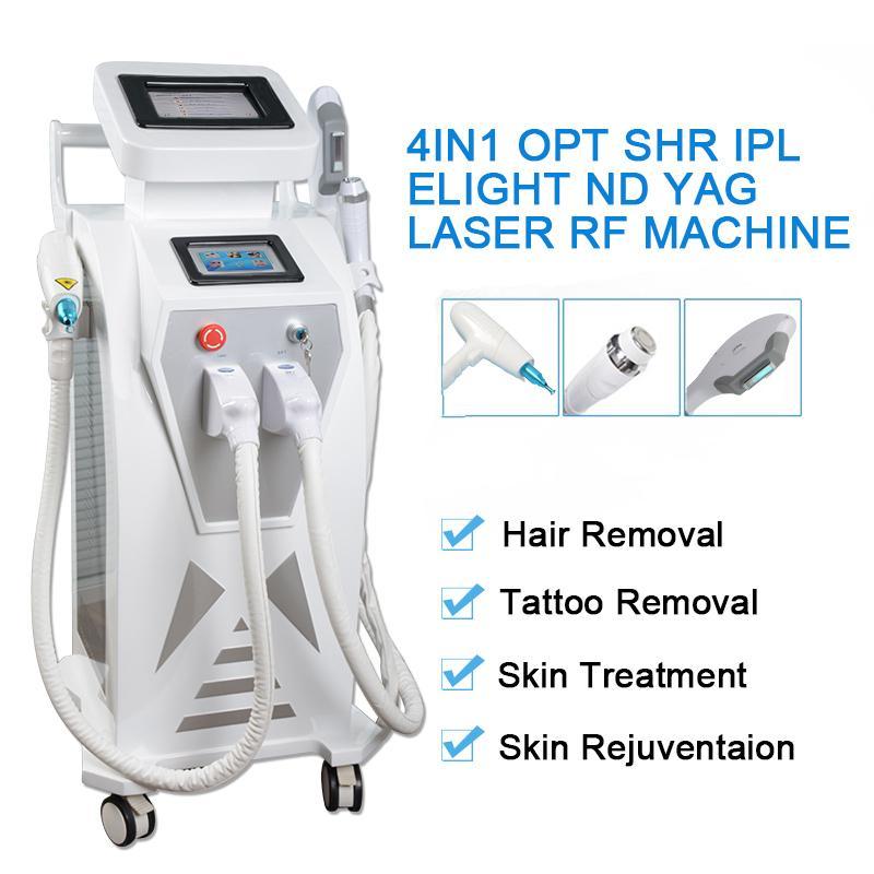 opt shr hair removal treatment nd yag laser Tattoo Removal machine Elight ipl RF skin tightening face