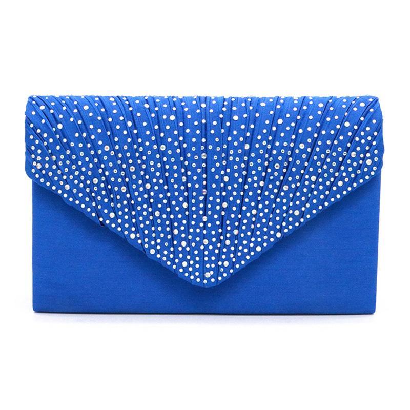 MONNET CAUTHY Summer New Evening Bag Occident Style практичный блестящий бриллиантовый свадебный клатч невесты синий белый черный красный сумки