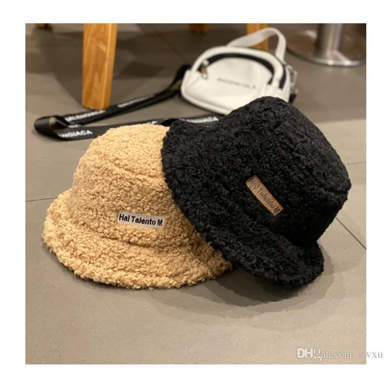 2020 Winter 2019 New Streetwear Hat Girl Ins Lamb Monotype Embroidered Fisherman Hat Autumn Winter Versatile Warm Tub Hat Casual Classic Fashion From Zwxu 14 08 Dhgate Com