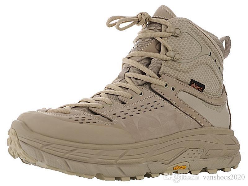 Hoka One One Tor Ultra High Mens Climbing Moutains Boots for Men Outdoor Walking Boot Man Hiking Shoes Male Trekking Shoe Men's Camping