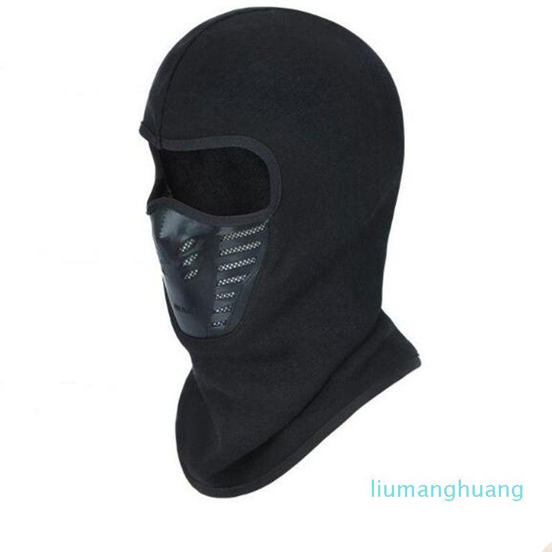 Мотоцикл полный маска для лица теплее ветрозащитный дышащий Airsoft пейнтбол Велоспорт лыжный щит анти-УФ мужчины солнцезащитные шапки шлем 01