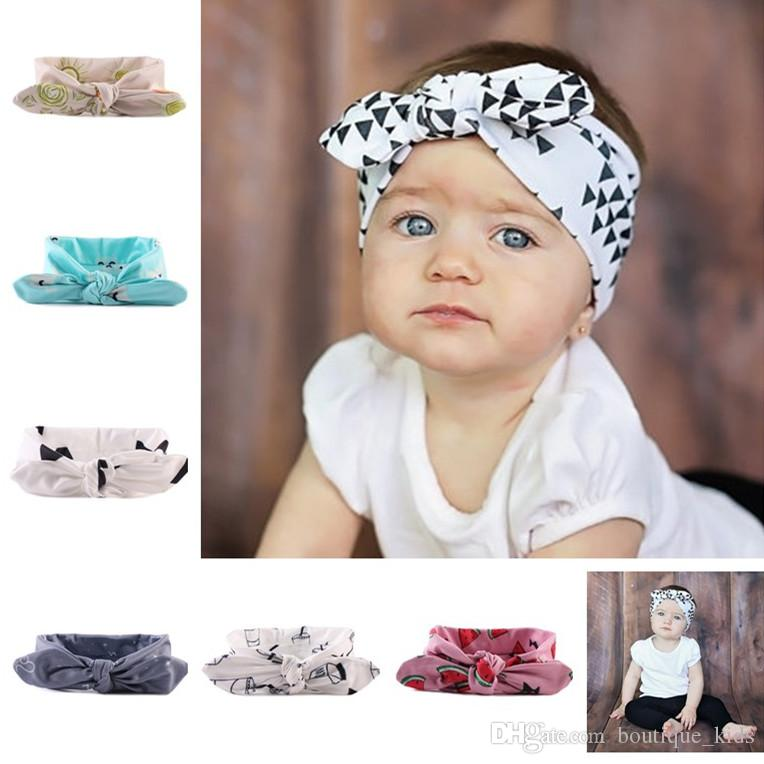 Nettes Mädchen Baby Stirnband Kleinkind Spitze Bogen zusätzliche Haarband B N9G7