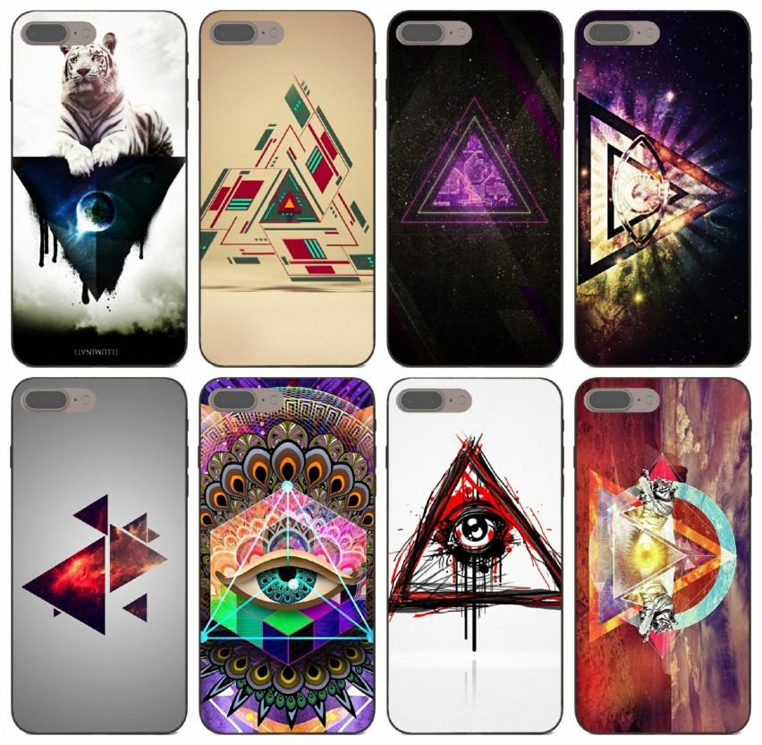 [TongTrade] Trippy Illuminati Case For iPhone 8s 7s 6s 5s Plus X XS 11 Pro Max Samsung S6 S7 Edge Huawei Y7 Y9 Sony Xperia Z2 Anti Slip Case