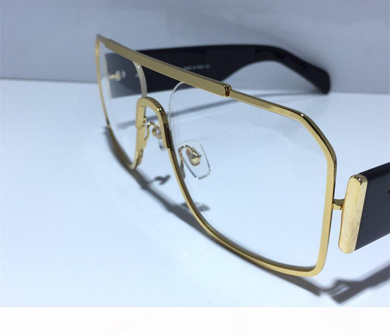 2175 Lüks Gözlük Reçete Gözlükler Vintage Çerçeve Moda Tasarım Gözlükler ile Orjinal Kılıf Retro Tasarım Altın Kaplama