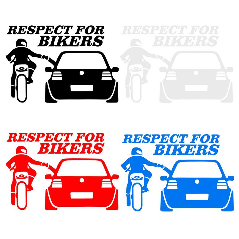 Cyclist Biker Funny Vinyl Car Window Bumper Motorcycle Skateboard Bicycle Tool