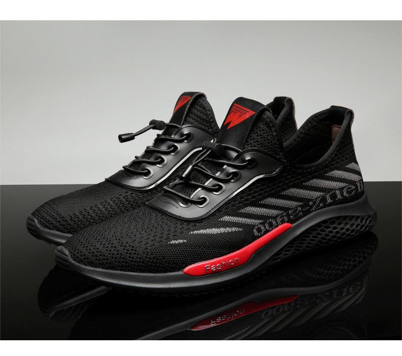 Спорт повседневная обувь мужчины 2019 весной новый мужской моды дышащие кроссовки летать тканые ткани мужская обувь обувь